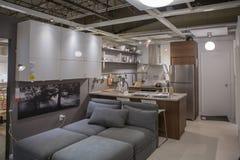 IKEA pokazuje pokój Obrazy Stock