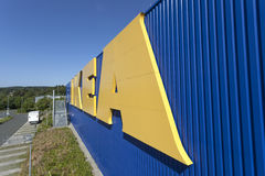 IKEA Przechuje w Siegen, Niemcy fotografia stock