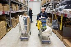 IKEA przechuje w Vilnius Zdjęcia Stock