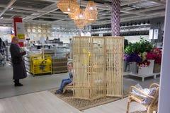 IKEA przechuje w Vilnius Obraz Royalty Free