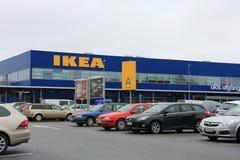 IKEA Raisio lager i Raisio, Finland Fotografering för Bildbyråer