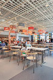 IKEA restaurant at Livat Shopping Mall, Beijing, China. BEIJING-AUGUST 21, 2015. IKEA restaurant at LIVAT shopping mall. The newly opened mega mall is owned by Stock Photography