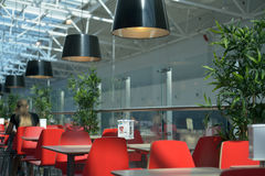 IKEA restaurant in Novosibirsk, Russia Stock Images