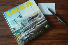 ikea's catalogue Stock Images