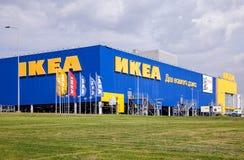 IKEA Samara Store i sommardag Royaltyfri Fotografi