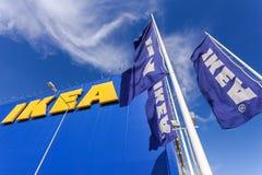 IKEA Samara Store IKEA är retaile världens största möblemang Arkivfoton