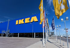 IKEA Samara Store IKEA é a mobília a maior do mundo retaile Imagem de Stock Royalty Free
