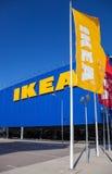 IKEA Samara Store IKEA is het grootste retaile meubilair van de wereld Stock Afbeeldingen