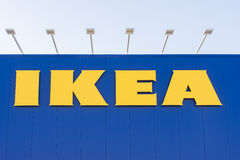 IKEA sign on a wall in Canberra, Australia Stock Images