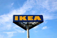 Ikea Sign Stock Images