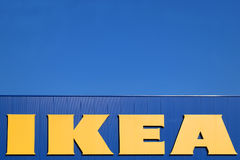 Ikea Sign Royalty Free Stock Photography