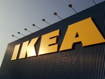 Ikea signent Photo stock