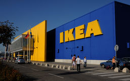 Ikea Slovakia in Bratislava. Ikea furniture and home store sign Royalty Free Stock Images