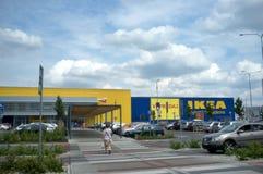 Ikea Slovakia in Bratislava - zebra crossing Stock Images