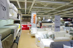 Ikea Sofas Royalty Free Stock Images