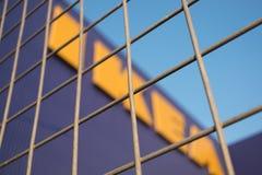 Ikea speichern am Mega- bangna in Thailand lizenzfreies stockbild