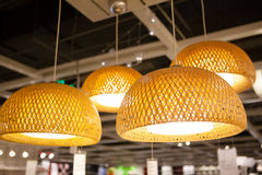 IKEA store in Chengdu lamps Royalty Free Stock Images
