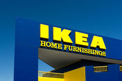 Ikea Store Exterior Royalty Free Stock Photography
