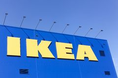 IKEA store and facade Royalty Free Stock Image