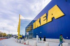 IKEA store logo stock image