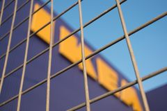 Ikea store at Mega bangna in Thailand. Samut Prakan, Thailand - March 18, 2018 : Exterior  of IKEA Store at Mega Bangna , The first branch in Thailand. By Royalty Free Stock Image