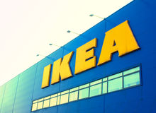 Ikea store sign Royalty Free Stock Photography
