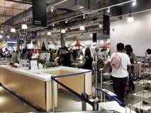 Ikea Tailandia della mensa Fotografia Stock Libera da Diritti