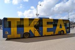 Ikea transportent Photos libres de droits