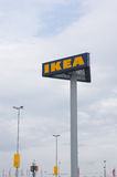 Ikea unterzeichnen Stockbild