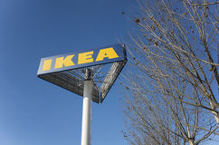 IKEA unterzeichnen Stockfoto