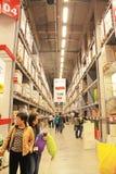 Ikea warehouse Stock Images