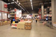 Ikea warehouse Stock Image