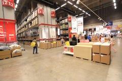 Ikea warehouse Stock Photography
