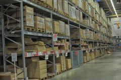 Ikea warehouse Royalty Free Stock Image