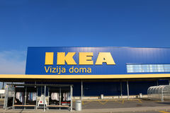 Ikea Zagreb Stock Photo