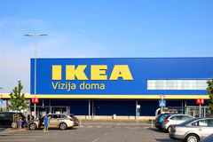 Ikea Zagreb Royalty Free Stock Photos