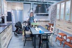 IKEA zeigen Raum Stockfotografie