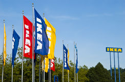IkeaSignage Lizenzfreies Stockfoto