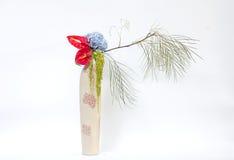 Ikebana asia blommagarnering Royaltyfri Bild