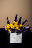 Ikebana com locustídeo de mel Fotos de Stock Royalty Free