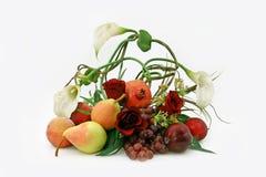 Ikebana da frutta Immagini Stock Libere da Diritti