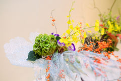Ikebana disposizione dei fiori Immagini Stock Libere da Diritti