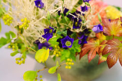 Ikebana. Flower arrangement Royalty Free Stock Images