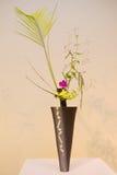 Ikebana. Flower arrangement. In the house Stock Photo