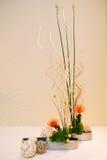Ikebana. Flower arrangement. In the house Stock Image