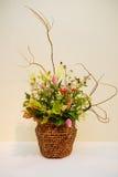 Ikebana. Flower arrangement. In the house Stock Photography