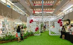 Ikebana International Singapore Chapter Stock Photography