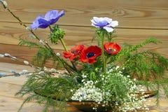 Ikebana japansk blom- ordning arkivfoton