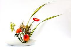 Ikebana kwiatu tajlandzka dekoracja Zdjęcia Royalty Free