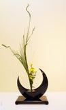 Ikebana Lycklig mors dag! kortbegrepp arkivfoto